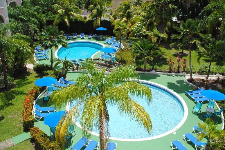 3-star Sunbay Hotel, Barbados.