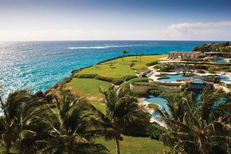 The Crane Resort, luxury beach resort in Barbados.