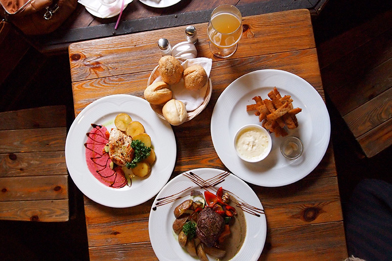 Best restaurants in Breckenridge: Belle V, you can expect classic hearty French food served tapas-style.