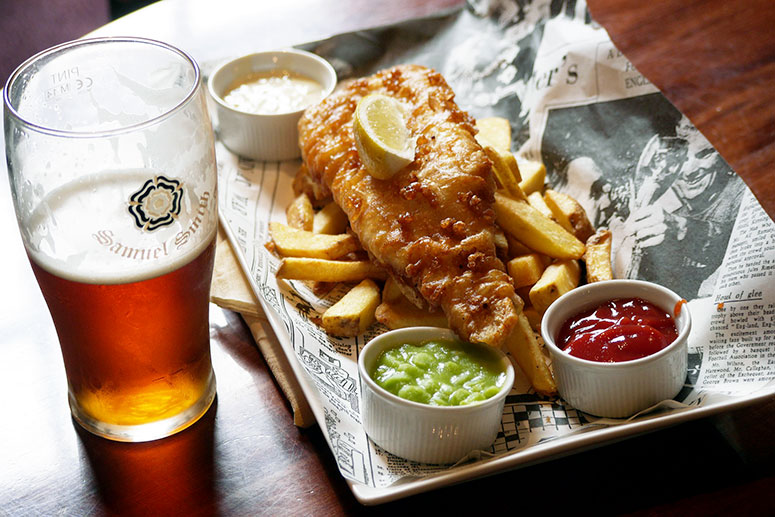 Best restaurants in Breckenridge: Breckenridge Brewery, try the special craft beer with fish and chips.